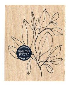 Sello de madera Florileges Or Saison FEUILLAGE FOISONNANT