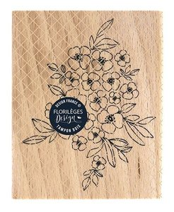 Sello de madera Florileges Or Saison TAPIS DE FLEURS