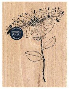 Sello de madera Florileges Or Saison OMBELLE EPANIQUE