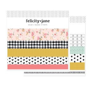 Tiras de washi tape Felicity Jane Shay