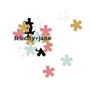 Tarro de asteriscos de chipboard Felicity Jane Shay