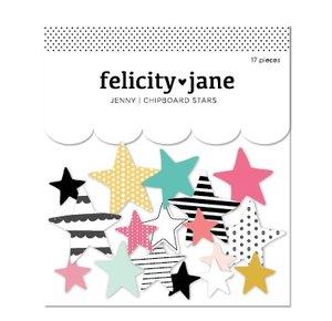Estrellas de chipboard Felicity Jane Jenny