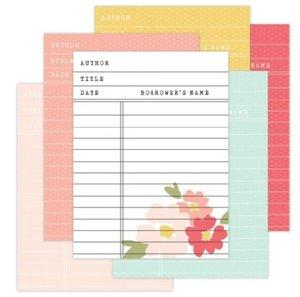 Set tarjetas Library Cards Katherine de Felicity Jane