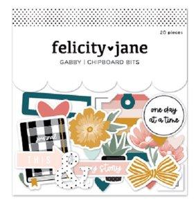 Chipboard Bits Gabby de Felicity Jane