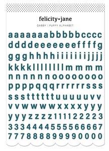 Mini Alfabeto puffy Gabby de Felicity Jane