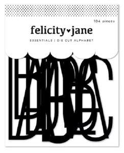 Die Cuts Alphabet & Numbers Coco de Felicity Jane
