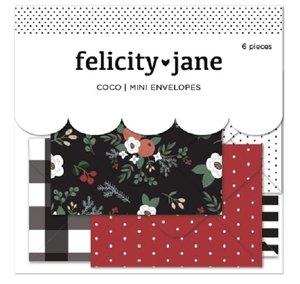 Mini sobres 6 pcs Coco de Felicity Jane