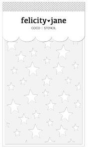 Stencil Stars Coco de Felicity Jane