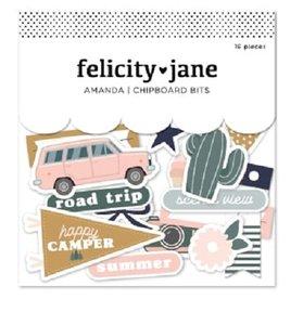 Chipboard Bits Amanda de Felicity Jane