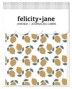 Journaling Cards Amanda de Felicity Jane
