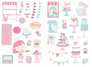 Die Cuts Fridita Sweet Pink