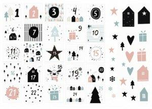 Die Cuts Calendario Fridita Navidad en Casa