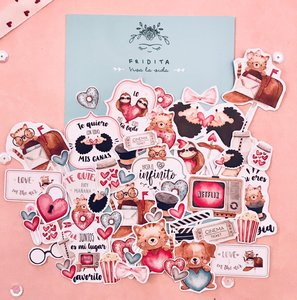 Die Cuts Fridita In Love