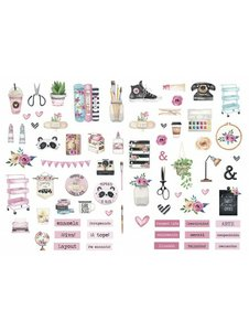 Die Cuts Fridita Art Home
