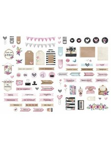 Die Cuts Fridita Art Home Planner