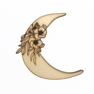 Silueta de madera Fridita Mystic Luna
