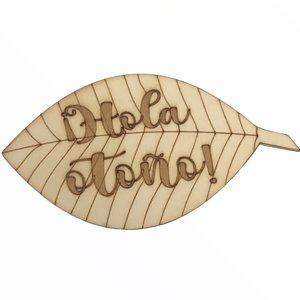 Silueta de madera Fridita Autumn Pumpkins Hola Otoño