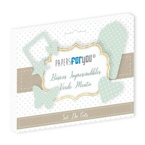 Die Cuts Papers For You Básicos Mint