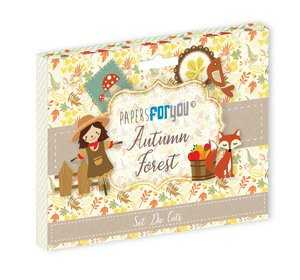 Die Cuts Papers For You Autunm Forest