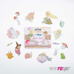 Die Cuts Papers For You Fairies Land