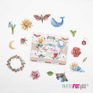Die Cuts Papers For You Magic Nature