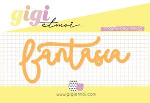 Título metacrilato Fantasía Gigi et Moi col. Feliz en tu día