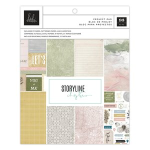 """Storyline Chapters Project Pad 7.5""""x9.5"""" - The Scrapbooker"""