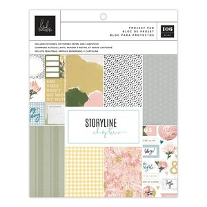 """Storyline Chapters Project Pad 7.5""""x9.5"""" - The Planner"""