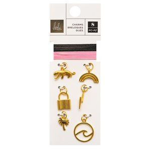Set de charms Old School de Heidi Swapp