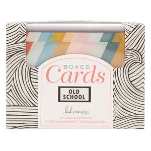 Caja con sobres y tarjetas Old School