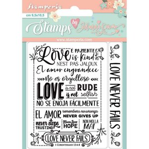 Sellos Col. Love Story de Johanna Rivero Love Never Fails