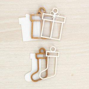 Kit mini Shakers para colgar Kimidori Colors Regalo y calcetín
