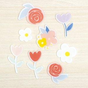 Set de metacrilatos Flores