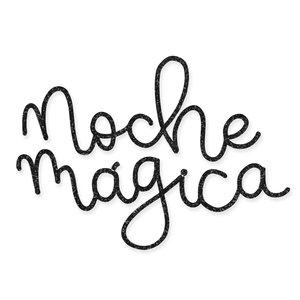 Título de metacrilato Scrap Your Life Junio Noche mágica