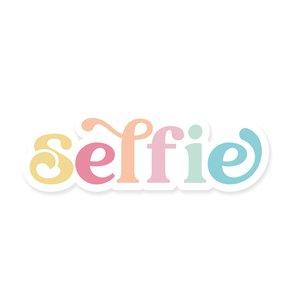 Título de metacrilato impreso Scrap Your Life Selfie