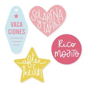Set de metacrilatos Scrap Your Life Rico Mojito