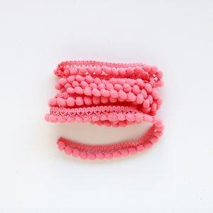 Cinta de pompones Coral
