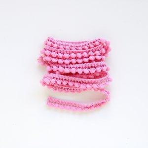 Cinta de pompones Rosa chicle