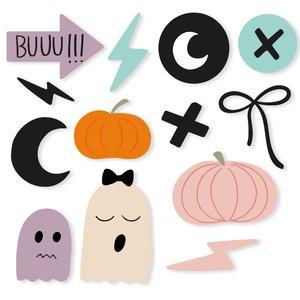 Set de metacrilatos autoadhesivos Scrap Your Life Halloween