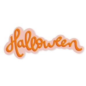 Título de metacrilato impreso Scrap Your Life Halloween