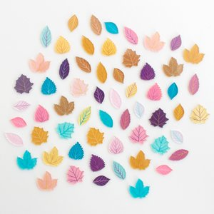 Set de metacrilatos 1mm Otoño Kimidori Colors Hojas