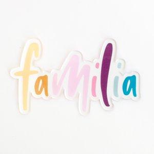 Título de metacrilato Kimidori Colors Familia
