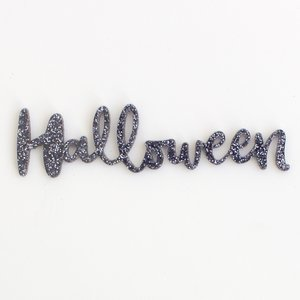 Título de metacrilato Kimidori Colors Halloween Glitter