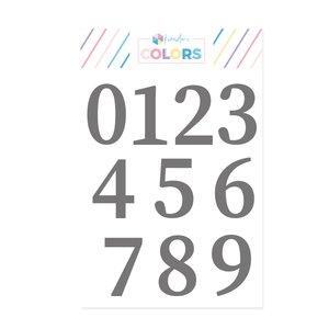 Sello Kimidori Colors Números Latiendo Juntos
