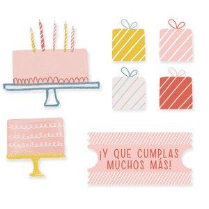 Set Metacrilatos autoadhesivos My Story Cumpleaños