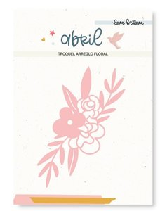 Troquel Lora Bailora Abril Arreglo Floral