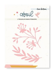 Troquel Lora Bailora Abril Ramas primavera