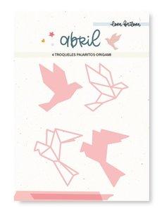 Troquel Lora Bailora Abril Pajaritos Origami