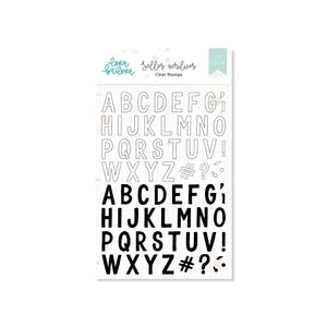 Set de sellos Lora Bailora ALFABETO MIX