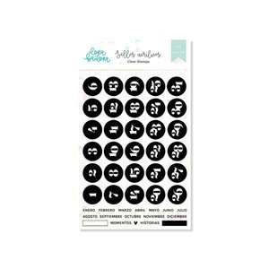 Set de sellos Lora Bailora DOCUMENTA español